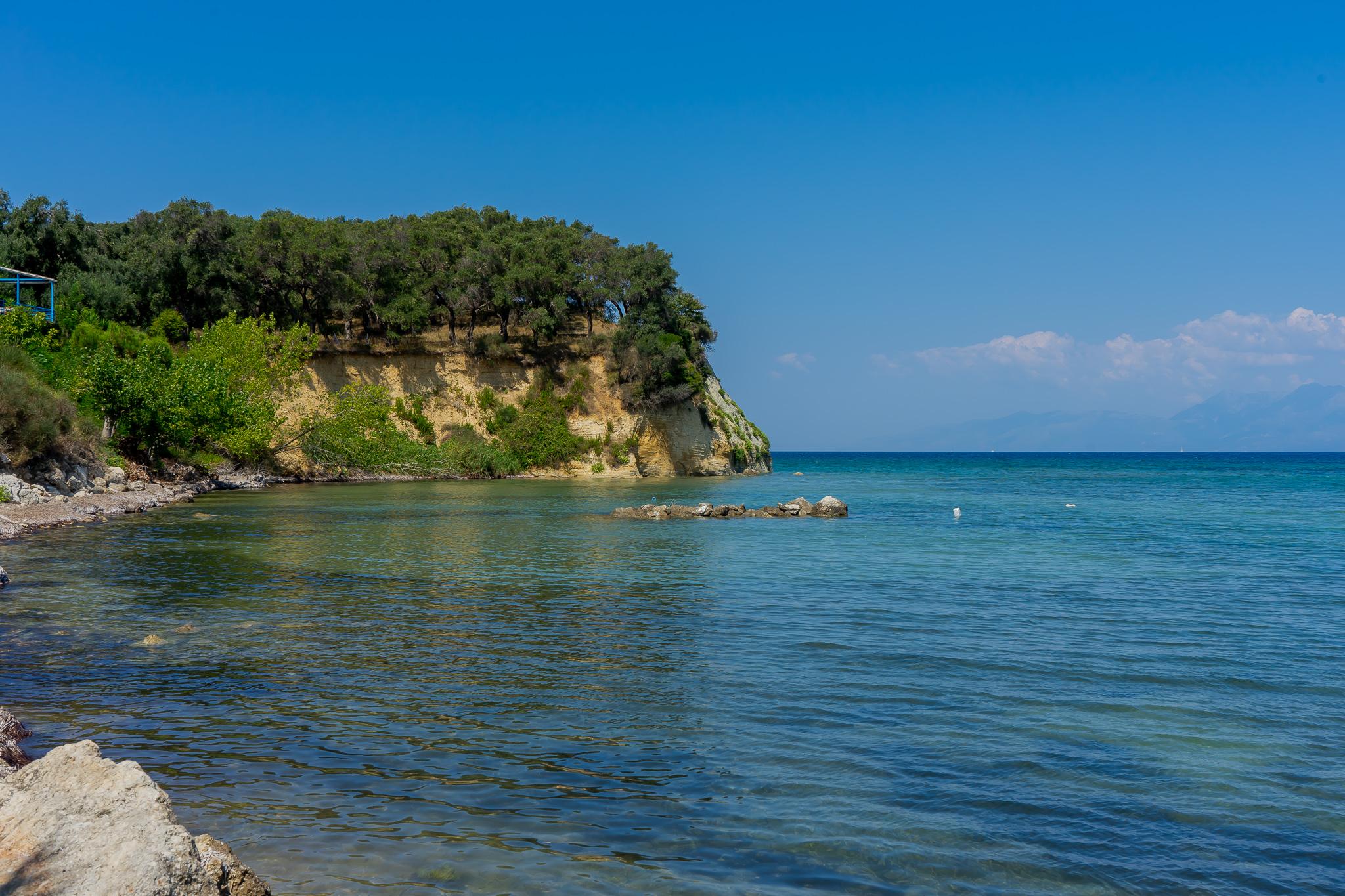 Αστρακερή Καρουσάδες Κέρκυρα παραλία